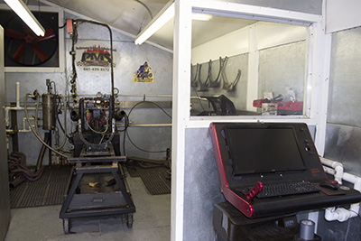 Engine Dyno testing assures engines meet horsepower and torque expectations.